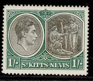 ST KITTS-NEVIS GVI SG75b, 1s black & green, M MINT.