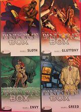 Pandora's Box - tome 2,3,4 & 5 - Radovanovic, Alcante - (Anglais)
