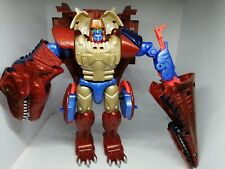 Transformers Beast Machines Wars T-Wrecks Megatron Ultra 100% Complete Dinobots