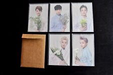 EXO M 엑소 Nature Republic Postcard Set Paper Sleeve Envelope KPop