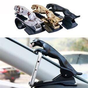 US Car Dashboard Phone Holder Jaguar Design 360 Degree Bracket Cell Mount Stand
