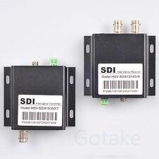 HD-SDI to FC Fiber Optic Converter 10KM Transmit Extender Video Loop RS485 Data