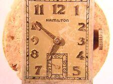 Hamilton 19J 982 Movement,  Parts or Restoration Bad Balance