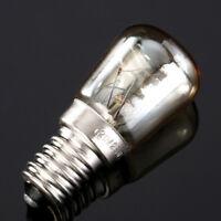 E14 Lampada da forno Lampadina a globo con luce fredda AC220-240V 15W/25W 300°C