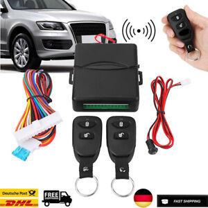 12V Auto Funkfernbedienung Keyless Entry-System Zentralverriegelung Remote DHL