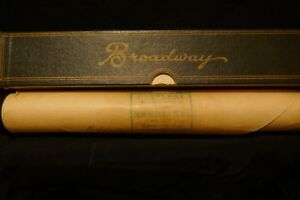 Broadway Word Roll Vintage Pianola Roll - 1588 Get out and Get Under the Moon