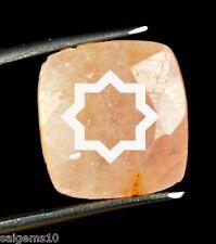 12.05 Ct Natural Cushion Cut Certified Pink Sapphire Loose Gemstone Ebay