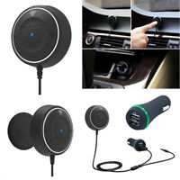 NFC Bluetooth4.0 Hands Free Car Stereo Music Receiver 3.5mm Aux Speakerph TWCRIT