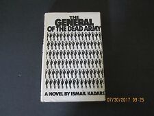 The General of the Dead Army by Ismail Kadare' 1st/1st 1972 HC/DJ