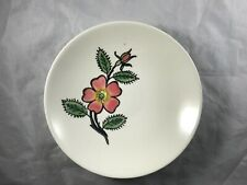 (4) Blue Ridge Southern Pottery Fruit Bowls Red Rugosa Wild Rose.