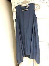 COS Womens Blue Dress Size 10 (36) Hanky Hem Lagenlook With Pockets