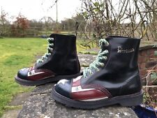DR. Martens MEN'S 1460 Limited Edition con-AMNESTY INTERNATIONAL BANDIERA americana UK 4 US 6 EU37