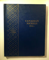 Whitman Canadian Nickel Collection 1922 - with 42 Nickels - With Coins!