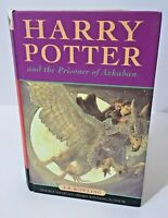 Harry Potter and The Prisoner Of Azkaban book 1st Edition 4th Print Hardback