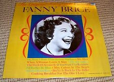 FANNIE BRICE - The Original Funny Girl - NEAR MINT 1968 Audio Fidelity AFLP-707