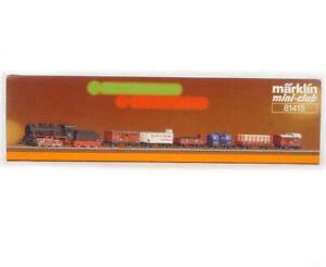 MARKLIN MINI-CLUB 81415 Z GAUGE BR 55 DRG Freight train set