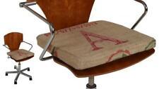 Sitzkissen Sitzauflage Stuhlkissen Kissen aus Kaffeesäcken Jute 40x40x4