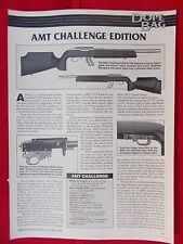 Vintage 1996 Mag. art. 118 AMT Challenge Edition Customized Ruger 10/22