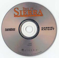 PC DOS: Gabriel Knight 1 + earthsiege-CD Best of Sierra