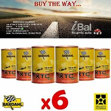 OLIO MOTORE XTC C60 15W-50 6 LITRI (4+2 OMAGGIO) 324040 BARDAHL
