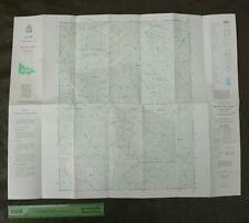 1983 SPION KOPJE Topographic Map 76x61cm Tarago La Trobe State Forest Bunyip VIC