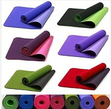 Eco-friendly TPE yoga mat's Thick Exercise Fitness Physio Pilates Gym Mats