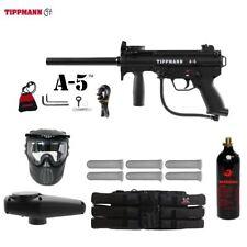 Tippmann Maddog A-5 Standard Titanium Paintball Gun Marker Package