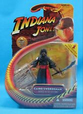 Indiana Jones Cairo Swordsman Figure 2008 Hasbro New on Card