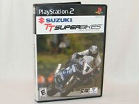 Suzuki TT Superbikes Real Road Racing - Sony PlayStation 2 / PS2 Game w/ Manual
