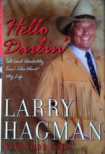 LARRY HAGMAN - HELLO DARLIN' - HARDBACK WITH DUST JACKET - 1P - INSCRIBED