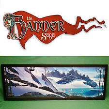 "Kickstarter: The Banner Saga Signed Landscape Lithograph Print 60/150 12 x 36"""