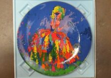 """Royal Doulton """"Columbine"""" by Leroy Neiman 1977 Collector Plate W/ Box 2300/15000"""