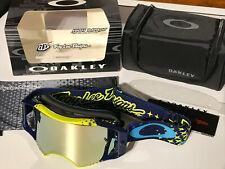 Oakley Airbrake MX Goggle TLD Signature 7046-42 starburst yellow,blue/24k gold