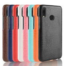 Crocodile PU leather hard back shell case SKIN cover For Huawei #3