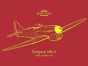 Eduard Royal Class 1:48 Tempest Mk.V Dual Combo Two Aircraft Model Kit