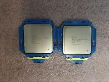 Matched Pair Intel Xeon E5-2640V2 SR19Z 8 Core 2.0GHz 20MB 7.2GTs Processor CPU