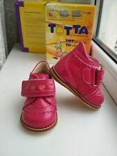 RUSSIA New-toddler-girl-leather-totto orthopedic series -sizes 17,18,19,20
