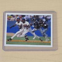 "1992 Upper Deck Deion Sanders ""Prime Time's Two"" SP3 MLB Baseball Card W/ Sleeve"