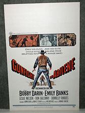 GUNFIGHT IN ABILENE original 1967 ROLLED movie poster BOBBY DARIN/LESLIE NIELSEN