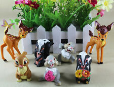Cute ! Cartoon Bambi 4cm - 9cm PVC Figure Set of 7 pcs