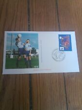 france timbre sport foot 98 Enveloppe  coupe du monde football 1998 Montpelier