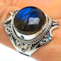 Large Labradorite 925 Sterling Silver Ring Size 9 Ana Co Jewelry R45437F