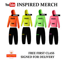 JAKE PAUL INSPIRED MERCH,Hoody &/or Joggies free UK 1st Class Signed for Postage