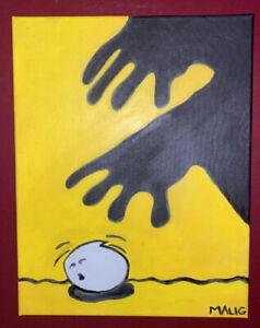Michael Alig Zoloft Painting, Club Kids, Alig, Limelight, Disco 2000 No Reserve!