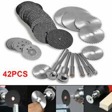 42pcs Diamond Saw Blade Cutting Disc Wheel +Drill Bit For Rotary Tool Set