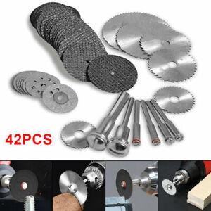 42x Diamond Cutting Wheels For Dremel Rotary Tool die Drinder Metal Cut Off Disc