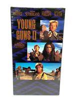 Young Guns II (VHS, 1991) Fox Video Tape Emilio Estevez RARE - Brand NEW Sealed