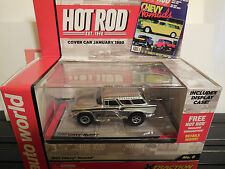 AUTO WORLD ~ '57 Chevy Nomad ~ New in Jewel Case ~ Also Fits AW, AFX, JL