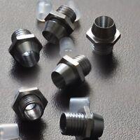 S058 - 10 Stück LED Halter Schrauben Metall Fassungen für 3mm LEDs