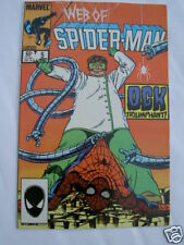 WEB OF SPIDERMAN # 5.DOCTOR OCTOPUS.1985